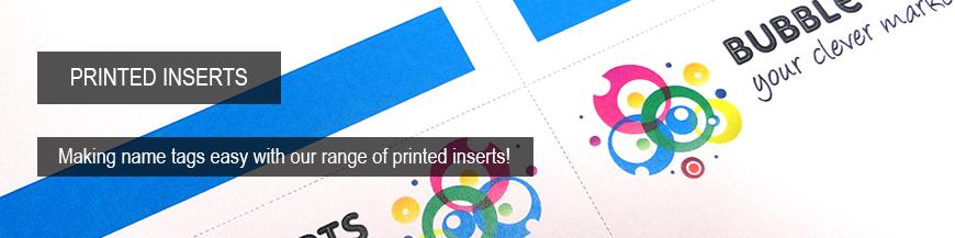 Onsite Name Tag Printer Paper