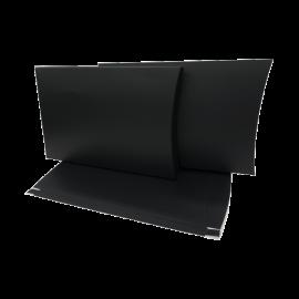 A4 Matt Black Pillow Box Printed