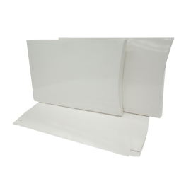 A4 White Gloss Pillow Box Printed