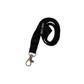 Bamboo 15mm Lanyard with Carabiner and Breakaway Unprinted