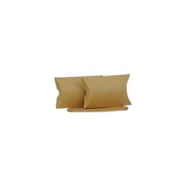 Small Brown Kraft Pillow Box