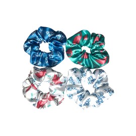 Custom Print Full Colour Scrunchies