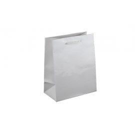 Baby White Gloss Laminated Paper Bag Printed