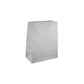 Medium White Gloss Laminated Paper Bag Printed