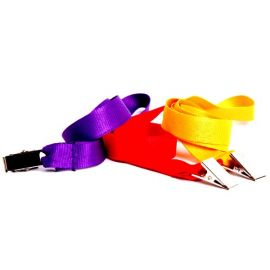 Gemini 15mm Plain Polyester Lanyard with Alligator