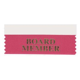 Board Member Ribbon