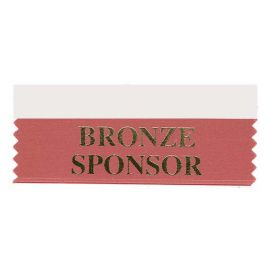 Bronze Sponsor Ribbon