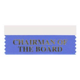 Chairman of Board Ribbon