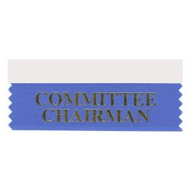 Committee Chairman Ribbon