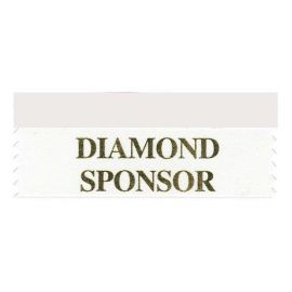 Diamond Sponsor Ribbon
