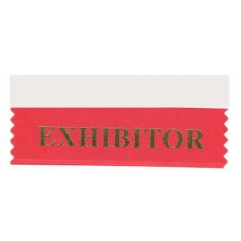 Exhibitor Ribbon