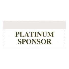 Platinum Sponsor Ribbon