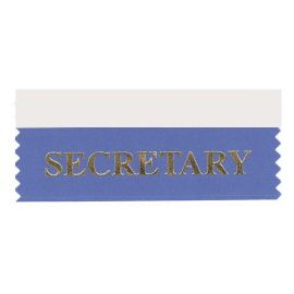 Secretary Ribbon