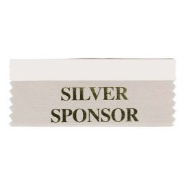 Silver Sponsor Ribbon