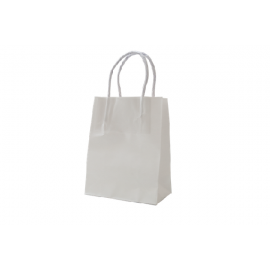Runt Standard White Kraft Paper Bag