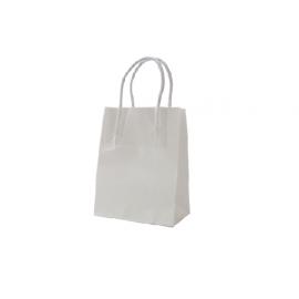 Runt Standard White Kraft Paper Bag