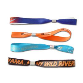 Fabric Wristbands Sublimated Indent