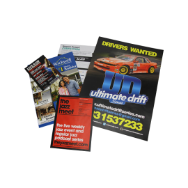 Custom Printed Flyers and Brochures