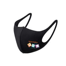 Single Layer Face Protection Mask Black