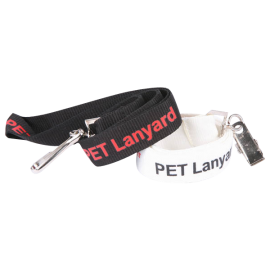 Lanyard PET lanyard - Screen printed onto Eco-Friendly PET fabric - Manufactured Overseas