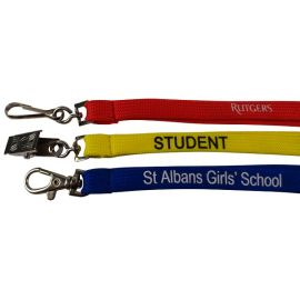 Lanyard Aquarius Budget Tubular 10mm PRINTED