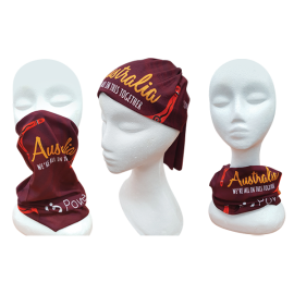 Australian Custom Printed Full Colour Bandanas