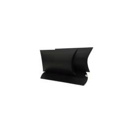 Small Matt Black Pillow Box