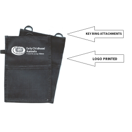 Neck Wallet PET - Printed with logo transfer on holder