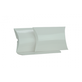 Medium White Gloss Pillow Box Printed