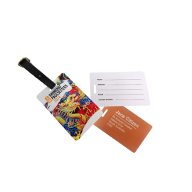 Plastic Luggage Tag Local
