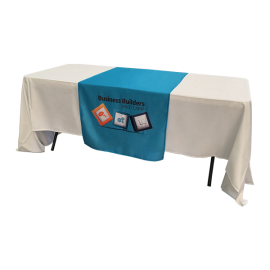 Sublimated Custom Print Table Runner Small INDENT