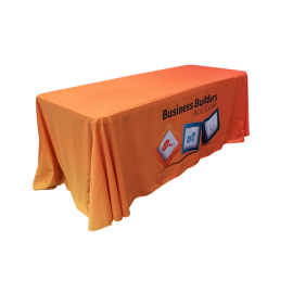 Sublimated Custom Print Table Cloth Loose Fit INDENT