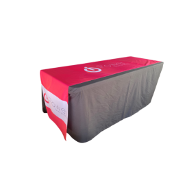 Sublimated Custom Print Table Runner Large INDENT
