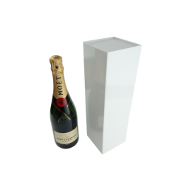 Wine Box with Magnet Closure Gloss White