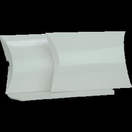 Large White Gloss Pillow Box